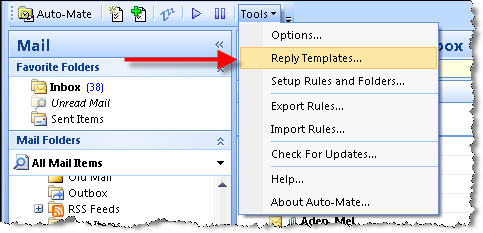 How to configure Auto-Mate to send Out-of-Office Replies (without ...